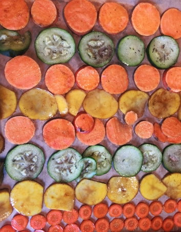 Colourful Veggie Chips